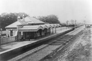 Hoe Street Station c1870
