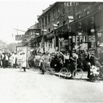 High St and market 1906