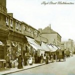 High St with Palace Theatre in the distance