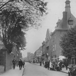 High Street looking towards Hoe St c1922 credit Walthamstow in Pictures