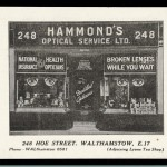 Hammonds Opticians 1921