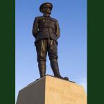 Job Drain VC statue
