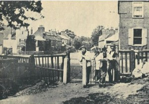 Gate to Markhouse Common 1861