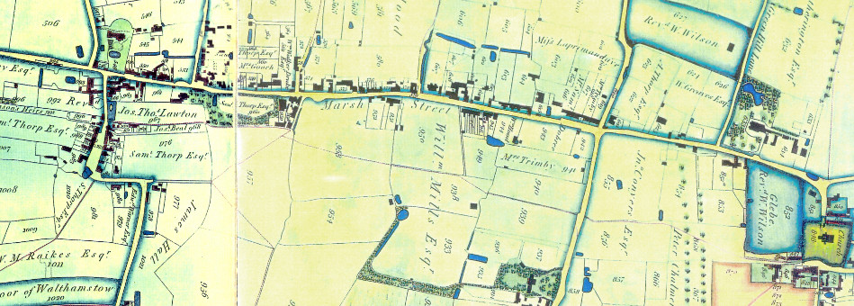 Coe Map - 1822
