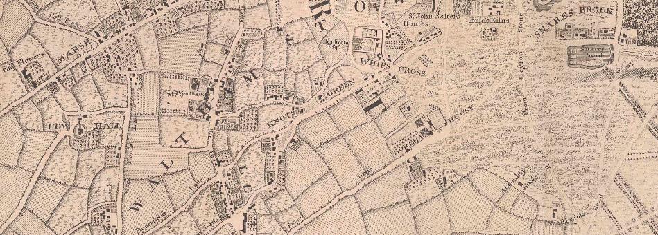 Rocque Map - 1746
