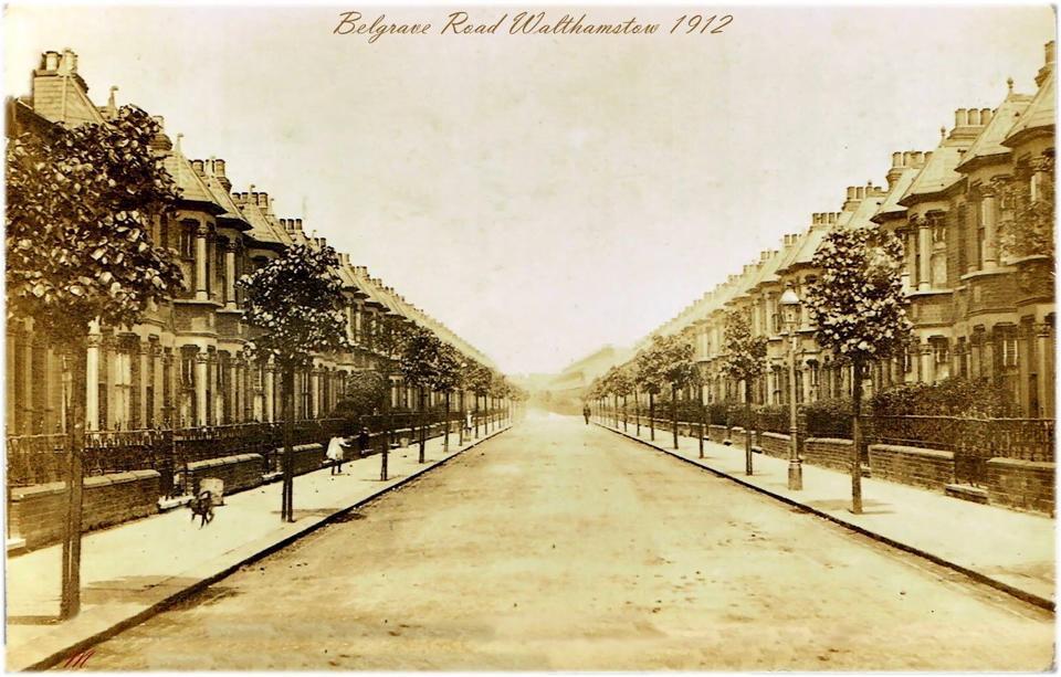 Belgrave Road 1912