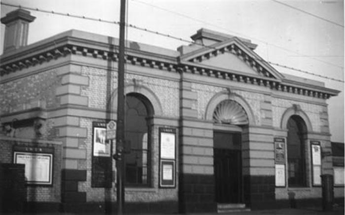 Lea Bridge Station 1940 (Courtesy Vestry House Museum