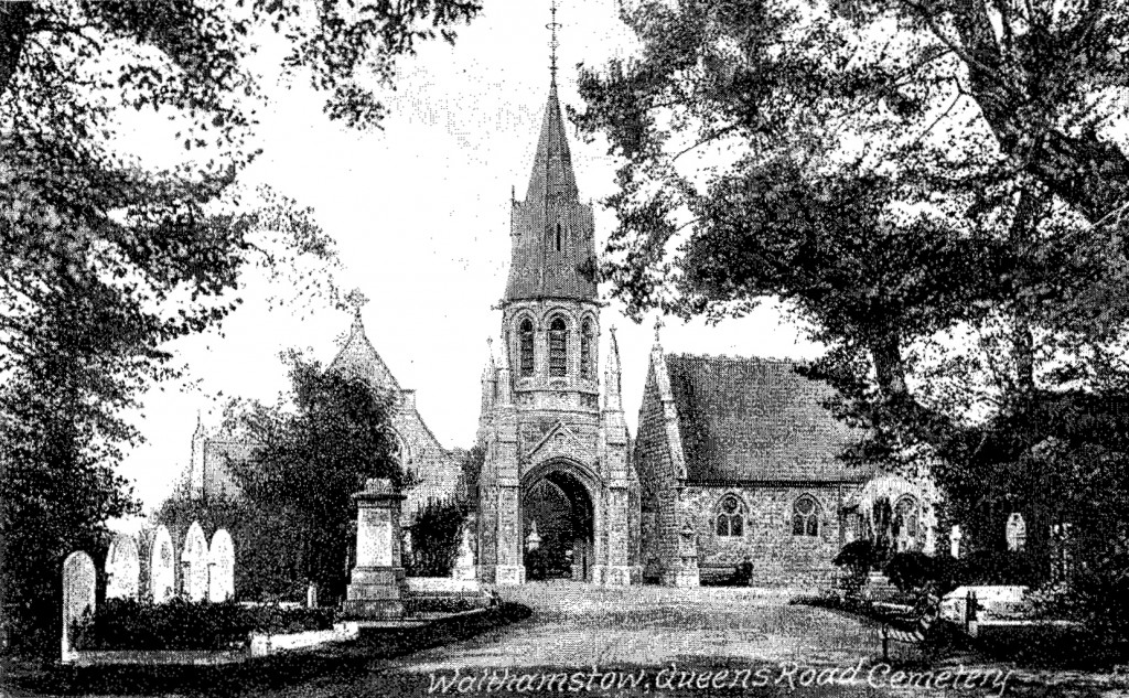 Queen's Road Cemetery in 1905