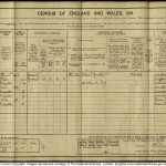 Census 1911 Spencers 104 Longfellow Rd