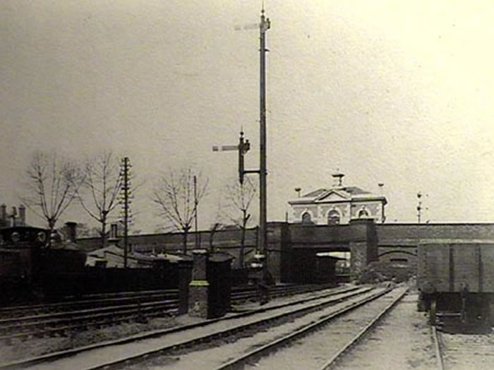 Lea Bridge Station in 1897