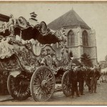 Going out circus carriage c1890
