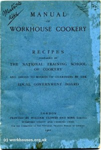 Workhouse cookery front cover