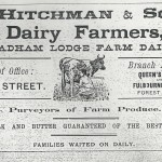 1906 Hitchman's Advert