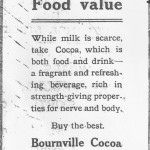 Bournville Advert -