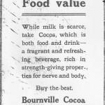 Bournville Advert -