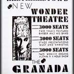 Granada publicity poster