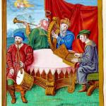 Henry VIII psalter image