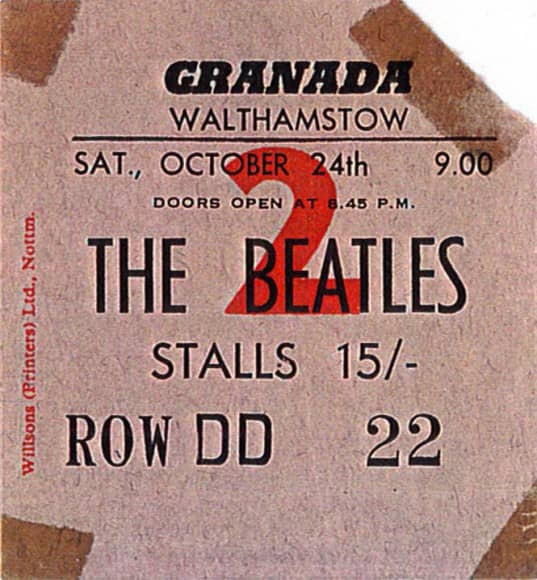 Panel 04 Beatles ticket