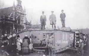 Selborne Park tank day 1918
